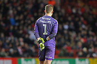 Dillon Phillips of Charlton Athletic during Charlton Athletic vs West Bromwich Albion, Sky Bet EFL Championship Football at The Valley on 11th January 2020