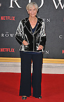 Sheila Hancock at the &quot;The Crown&quot; TV premiere, Odeon Leicester Square cinema, Leicester Square, London, England, UK, on Tuesday 01 November 2016. <br /> CAP/CAN<br /> &copy;CAN/Capital Pictures /MediaPunch ***NORTH AND SOUTH AMERICAS ONLY***
