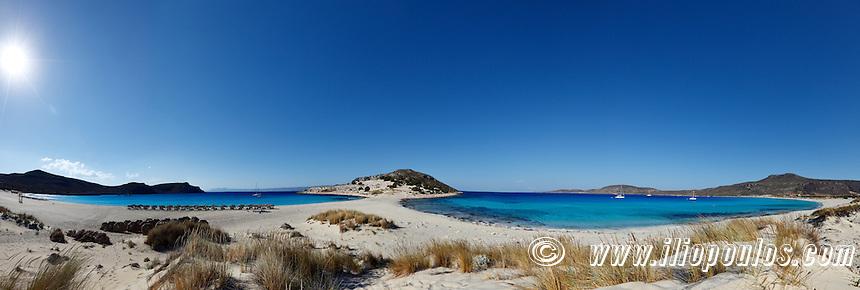 The incredible Simos beach in Elafonissos island, Greece