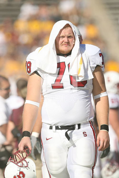21 October 2006: Jon Cochran during Stanford's 38-3 loss to Arizona State at Sun Devil Stadium in Phoenix, AZ.