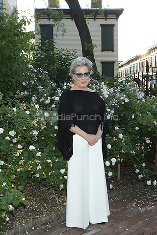 NEW YORK, NY - JUNE 1: Bette Midler attends New York Restoration Project Spring Picnic at Morris-Jumel Mansion on June 1, 2016 in New York City. Credit: Diego Corredor/Media Punch
