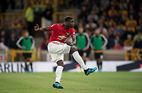 Paul Pogba of Man Utd as he misses his penalty during the Premier League match between Wolverhampton Wanderers and Manchester United at Molineux, Wolverhampton, England on 19 August 2019. Photo by Andy Rowland.