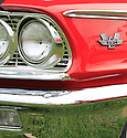 Fins, chrome, wheels, lines that define the age of automotive in America.
