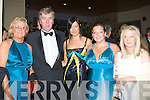 ..PRE: Heading off to the 50th Annuversary Rose Ball in the Topaz Dome, on FRiday night l-r: Marella Brosnan, John Delaney, Aisling Brosnan, Doireann Barrett and Emer Deleaney.. ....