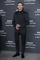 "Sergei Polunin attends the gala night for official presentation of the Presentation of the Pirelli Calendar 2019 ""The cal"" held at the Hangar Bicocca. Milan (Italy) on december 5, 2018. Credit: Action Press/MediaPunch ***FOR USA ONLY***"