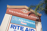 Westminster Center Signage