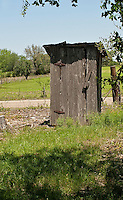 Outhouse, Texas Hill Country
