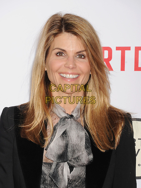 HOLLYWOOD, CA - JANUARY 21: Actress Lori Loughlin arrives at The Los Angeles Premiere Of 'Mortdecai' at TCL Chinese Theatre on January 21, 2015 in Hollywood, California.<br /> CAP/ROT/TM<br /> &copy;TM/Roth Stock/Capital Pictures