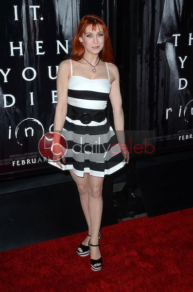 """Bonnie Morgan<br /> at the """"Rings"""" Los Angeles Special Screening, Regal LA Live, Los Angeles, CA 02-02-17<br /> David Edwards/DailyCeleb.com 818-249-4998"""