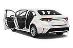 Car images close up view of a 2020 Toyota Corolla XLE 4 Door Sedan doors