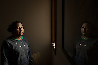 Mexican immigrant Fidelia Diaz (CQ) in Graham, NC on Friday, December 16, 2016. (Justin Cook for The New York Times)