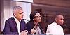 Sadia Khan addresses the first Knife Crime Summit <br /> London 2016 <br /> MOPAC <br /> at Friend's Meeting House, London, Great Britain <br /> 13th October 2016 <br /> <br /> Sadiq Khan <br /> Mayor of London <br /> <br /> <br /> <br /> Yvonne Lawson - founder of Godwin Lawson Foundation <br /> whose son was killed in a knife attack in Stamford Hill in March 2010. <br /> <br /> Reiss Hall (youth Chair) <br /> <br /> Photograph by Elliott Franks <br /> Image licensed to Elliott Franks Photography Services