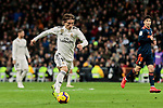 Real Madrid's Luka Modric during La Liga match between Real Madrid and Valencia CF at Santiago Bernabeu Stadium in Madrid, Spain. December 01, 2018. (ALTERPHOTOS/A. Perez Meca)