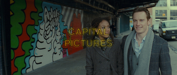 NICOLE BEHARIE & MICHAEL FASSBENDER.in Shame.*Filmstill - Editorial Use Only*.CAP/FB.Supplied by Capital Pictures.