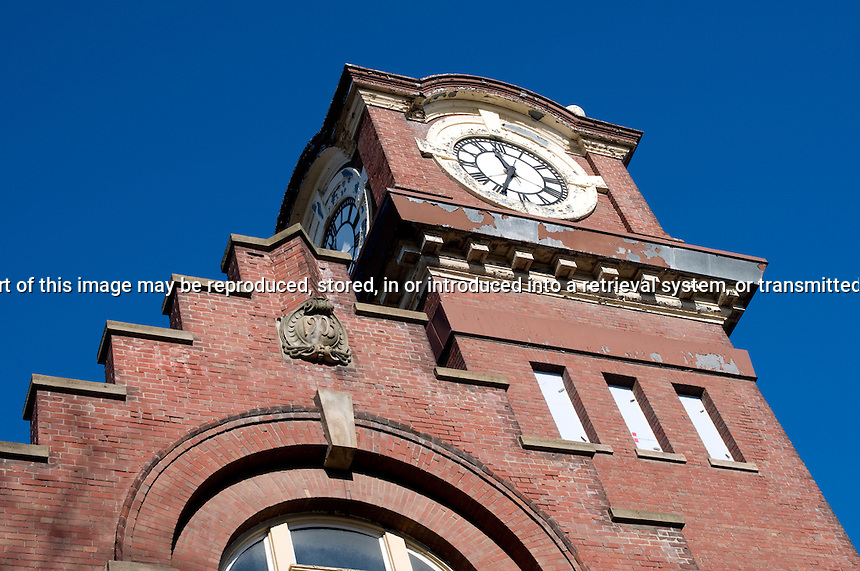 Clock tower on the old fire hall The Beach Toronto