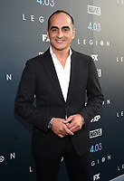 "LOS ANGELES, CA - APRIL 2: Navid Negahban attends the season two premiere of FX's ""Legion"" at the DGA Theater on April 2, 2018 in Los Angeles, California. (Photo by Frank Micelotta/FX/PictureGroup)"