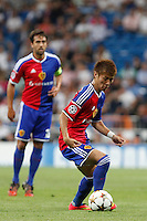 Yoichiro Kakitani of FC Basel 1893 during the Champions League group B soccer match between Real Madrid and FC Basel 1893 at Santiago Bernabeu Stadium in Madrid, Spain. September 16, 2014. (ALTERPHOTOS/Caro Marin) /NortePhoto.com