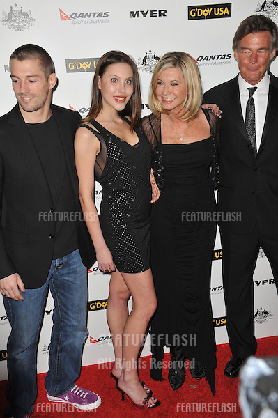 Chloe Lattanzi & James Driscoll & Olivia Newton-John & John