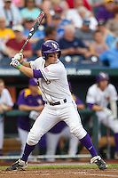 LSU Tiger shortstop Alex Bregman (30) at bat during Game 4 of the 2013 Men's College World Series against the UCLA Bruins on June 16, 2013 at TD Ameritrade Park in Omaha, Nebraska. UCLA defeated LSU 2-1. (Andrew Woolley/Four Seam Images)