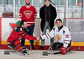 St. John's, NL - Dec 2 2019: Game 4 - Canada vs. Russia at the 2019 Canadian Tire Para Hockey Cup at the Double Ice Complex in Paradise, Newfoundland, Canada. (Photo by Matthew Murnaghan/Hockey Canada)