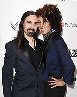 LOS ANGELES - DECEMBER 6: Bear McCreary and Raya Yarbrough attend the 2018 Game Awards at the Microsoft Theater on December 6, 2018 in Los Angeles, California. (Photo by Scott Kirkland/PictureGroup)