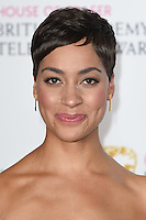 Cush Jumbo<br /> in the winners room at the 2016 BAFTA TV Awards, Royal Festival Hall, London<br /> <br /> <br /> &copy;Ash Knotek  D3115 8/05/2016