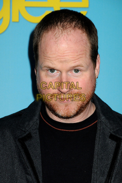 "JOSS WHEDON .Fox's ""Glee"" Spring Premiere Soiree held at Bar Marmont, West Hollywood, California, USA, .12th April 2010..portrait headshot  grey gray blazer jacket black beard facial hair .CAP/ADM/BP.©Byron Purvis/AdMedia/Capital Pictures."