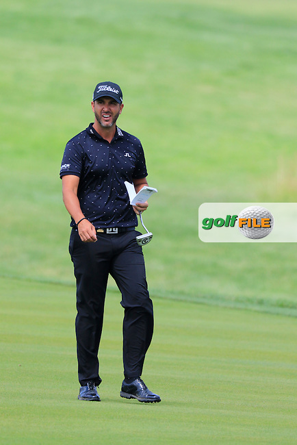 Scott Piercy (USA) on the 10th hole during Friday's Round 1 of the 2016 U.S. Open Championship held at Oakmont Country Club, Oakmont, Pittsburgh, Pennsylvania, United States of America. 17th June 2016.<br /> Picture: Eoin Clarke | Golffile<br /> <br /> <br /> All photos usage must carry mandatory copyright credit (&copy; Golffile | Eoin Clarke)
