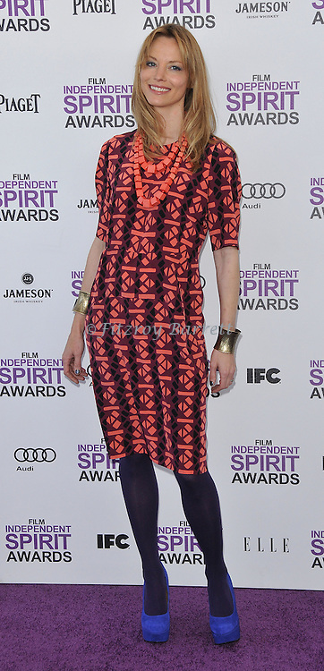 Sienna Guillory at the 2012 Film Independent Spirit Awards held at Santa Monica Beach, CA. February 25, 2012