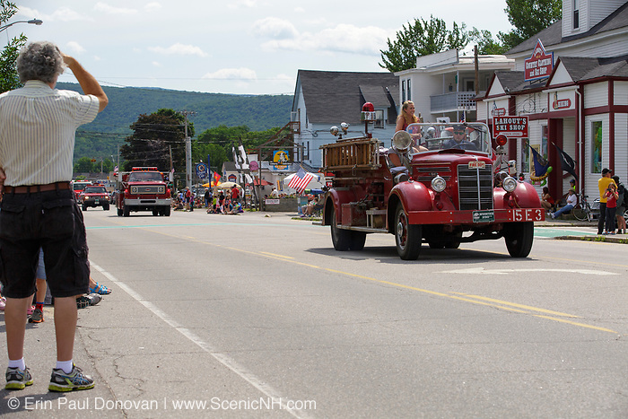 Lincoln - Woodstock 4th of July parade in Lincoln, New Hampshire USA