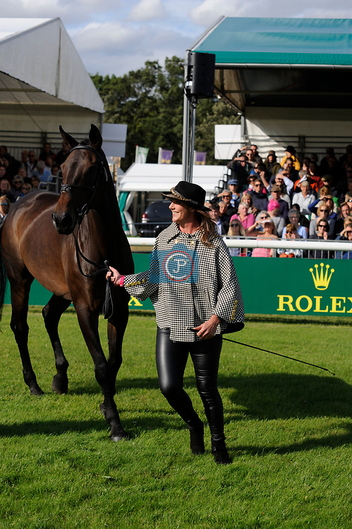 Stamford, Lincolnshire, United Kingdom, 4th September 2019, Hazel Towers (GB) & Simply Clover during the 1st Horse Inspection of the 2019 Land Rover Burghley Horse Trials, Credit: Jonathan Clarke/JPC Images