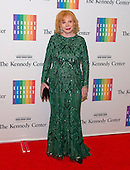 Mrs. William (Buffy) Cafritz arrives for the formal Artist's Dinner honoring the recipients of the 2013 Kennedy Center Honors hosted by United States Secretary of State John F. Kerry at the U.S. Department of State in Washington, D.C. on Saturday, December 7, 2013. The 2013 honorees are: opera singer Martina Arroyo; pianist,  keyboardist, bandleader and composer Herbie Hancock; pianist, singer and songwriter Billy Joel; actress Shirley MacLaine; and musician and songwriter Carlos Santana.<br /> Credit: Ron Sachs / CNP