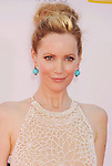 LOS ANGELES, CA - SEPTEMBER 23: Leslie Mann  arrives at the 64th Primetime Emmy Awards at Nokia Theatre L.A. Live on September 23, 2012 in Los Angeles, California.