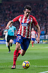 Atletico de Madrid Stefan Savic during La Liga match between Atletico de Madrid and Real Madrid at Wanda Metropolitano in Madrid, Spain. November 18, 2017. (ALTERPHOTOS/Borja B.Hojas)
