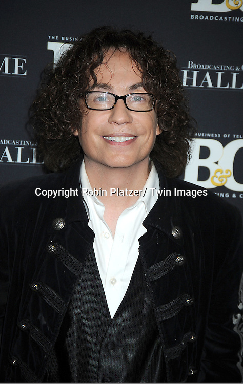 Mike Darnel, of American Idol, attends the 2011 Broadcasting & Cable Hall of Fame Awards on October 26, 2011 at the Waldorf Astoria Hotel in New York City.