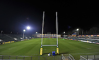 A general view of the Recreation Ground pitch. Aviva Premiership match, between Bath Rugby and Harlequins on November 28, 2014 at the Recreation Ground in Bath, England. Photo by: Patrick Khachfe / Onside Images