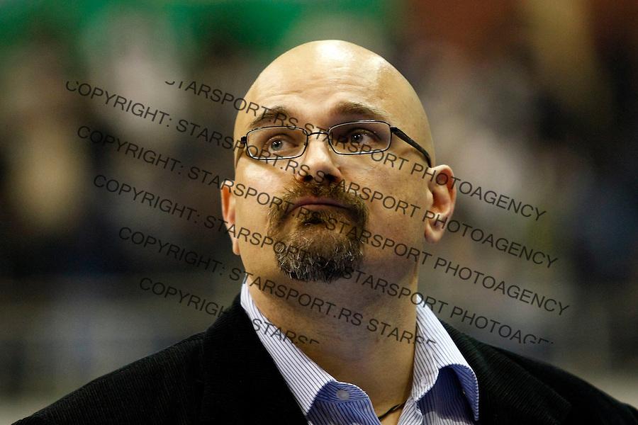 Kosarka, NLB Liga-Regionalna, sezona 2007/08.Partizan Vs. Olimpija, Ljubljana.head coach Aleksandar Dzikic .Beograd, 03.08.2008..foto: Srdjan Stevanovic