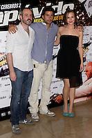 26.07.2012. Premier at Palafox Cinema in Madrid of the movie 'Impavido´, directed by Carlos Theron and starring by Marta Torne, Selu Nieto, Nacho Vidal, Carolina Bona, Julian Villagran and Manolo Solo. In the image Aura Garrido (Alterphotos/Marta Gonzalez) /NortePhoto.com <br /> <br /> **CREDITO*OBLIGATORIO** *No*Venta*A*Terceros*<br /> *No*Sale*So*third* ***No*Se*Permite*Hacer Archivo***No*Sale*So*third*©Imagenes*con derechos*de*autor©todos*reservados*.