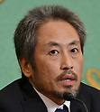 Japanese journalist Junpei Yasuda who was freed from captivity in Syria attends conference