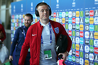 Jordan Pickford of England arrives before England Under-21 vs Poland Under-21, UEFA European Under-21 Championship Football at The Kolporter Arena on 22nd June 2017