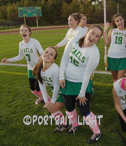 From left, CHS junior Mae Ball, senior Martha Seed, junior Allison Bowser, freshman Maranda Bashaw, senior Cassie Morrison and junior Lexa Souza have some fun.
