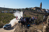 6th October 2017, Costa Daurada, Salou, Spain; FIA World Rally Championship, RallyRACC Catalunya, Spanish Rally; Ott Tanak of M-Sport WRT during the SS3 in Villalba dels Arcs