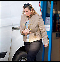 BNPS.co.uk (01202 558833)<br /> Pic:  RogerArbon/BNPS<br /> <br /> Attacked - Samantha Newby-Vincent(43) at Poole magistrates court.<br /> <br /> The ex-fiancee of a millionaire businessman denied started a cat fight with his new girlfriend - because she 'loved her nails too much'.<br /> <br /> Rebecca Vowles, 47, said she couldn't have banged down a locked toilet cubicle door to attack terrified love rival Samantha Newby-Vincent as it might have damaged her immaculate nails.<br /> <br /> But magistrates found the glamorous blonde defendant guilty of assault after being shown a video recording of the attack that happened in the ladies' loos at an exclusive marina in Poole, Dorset.