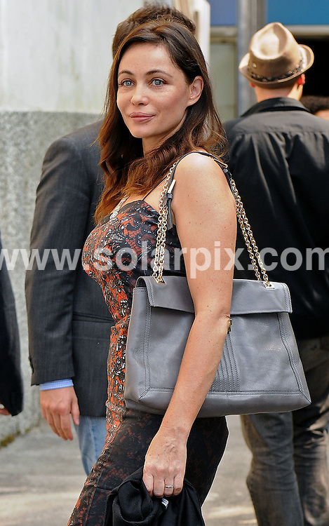"""**ALL ROUND PICTURES FROM SOLARPIX.COM**.**WORLDWIDE SYNDICATION RIGHTS**.Emmanuelle Beart and her boyfriend arrive at the press conference for new film """"Vinyan'"""" at the Lido, Venice as part of the 65th Venice Film Festival. Venice, Italy. August 30, 2008..This pic: Emmanuelle Beart..JOB REF:  7156 SSD     DATE: 30_08_2008.**MUST CREDIT SOLARPIX.COM OR DOUBLE FEE WILL BE CHARGED* *UNDER NO CIRCUMSTANCES IS THIS IMAGE TO BE REPRODUCED FOR ANY ONLINE EDITION WITHOUT PRIOR PERMISSION*"""