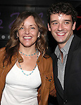 Alice Ripley, Michael Urie attend the opening night performance reception for the Keen Company production of Marry Me A Little at the Clurman Theatre in New York City on10/2/2012.