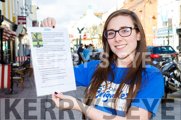 Victoria O'Sullivan Killarney who is traveling to Hondoras in May with the Water Brigades to install clean water systems