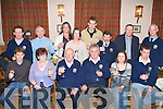 INSHORE RESCUE: Member's of Banna Community Inshore Rescue Unit celebrating their 25th anniversary of service to the community at their annual dinner in Kate Brownes restaurant and bar Ardfert on Sunday seated l-r: Robert Kennedy, Breda Collins, Bill Shanahan, Steven Baker, Caroline O'Callaghan and Eoin McCarthy. Back l-r: Donal Stack, Dr John A. Casey, Vicki Foley, Margaret Racett, Killian Harrington, Francis Lawlor, Maurice Mcelligott and James McLoughlin..   Copyright Kerry's Eye 2008