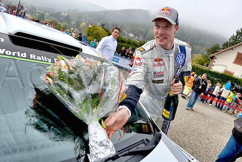 05.10.2014. Alsace Region, France. WRC Rally of France.  Jari-Matti Latvala (FIN)