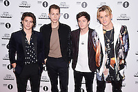 The Vamps<br /> at the Radio 1 Teen Awards 2016, Wembley Arena, London.<br /> <br /> <br /> ©Ash Knotek  D3188  22/10/2016