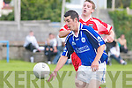 Kerins ORahillys v Dingle in.their Division One clash.in Strand Road, Tralee on Sunday.